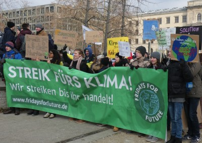Fridays for Future Demonstation am 25.01.2019 in Berlin. Quelle: wikipedia.org