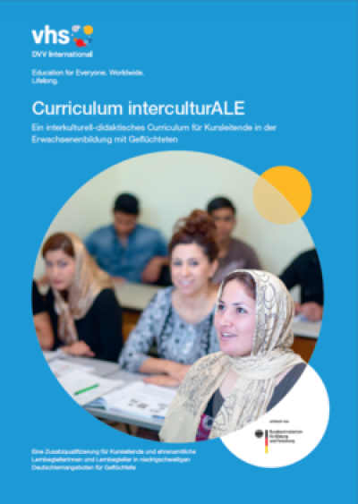 Titelseite Curriculum interculturALE. Quelle: DVV DVV International