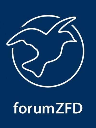 Logo forumZFD. Quelle: run4peace.eu