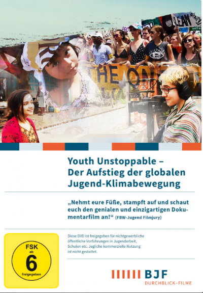 Cover Youth Unstoppable. Quelle: BJF e.V.